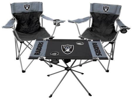 NFL Oakland Raiders 3-Piece Tailgate Kit