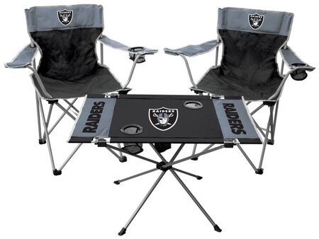 NFL Oakland Raiders 3-Piece Tailgate Kit