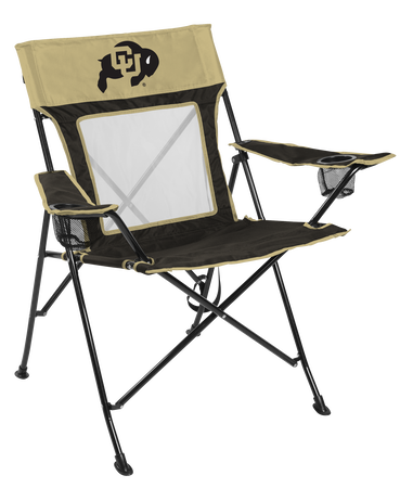 NCAA Colorado Buffaloes Game Changer chair with the team logo