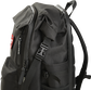 Left side of a black Rawlings coach's backpack with the clip on the side - SKU: CEOBP-B image number null