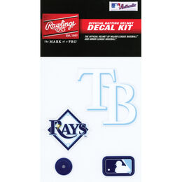 MLB Tampa Bay Rays Decal Kit