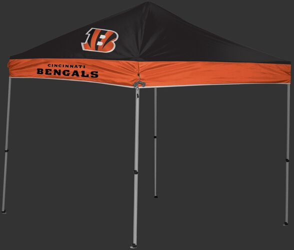 Rawlings Orange and Black NFL Cincinnati Bengals 9x9 Canopy Shelter With Team Logo and Name SKU #03231063111