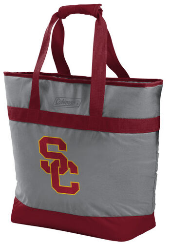 Rawlings USC Trojans 30 Can Tote Cooler In Team Colors With Team Logo On Front SKU #07883100111