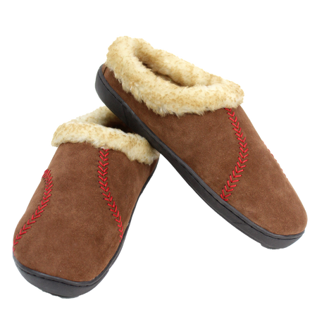 Two RF50005-200 Men's baseball stitch hooded clogs with cow sued and faux sheep lining