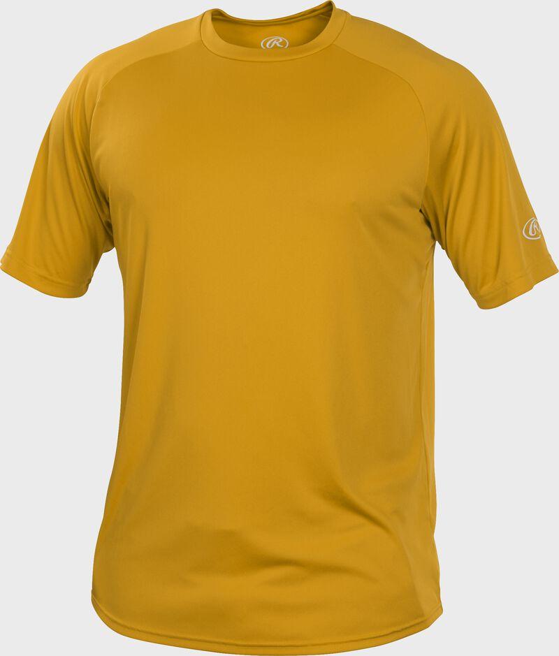 RTT Light Gold Adult crew neck short sleeve jersey