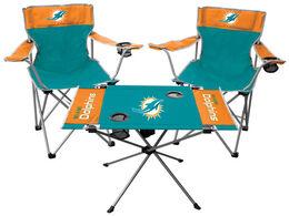 NFL Miami Dolphins 3-Piece Tailgate Kit