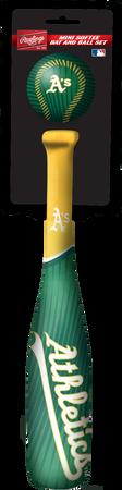 MLB Oakland Athletics Slugger Softee Mini Bat and Ball Set