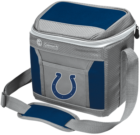 Rawlings Indianapolis Colts 9 Can Cooler In Team Colors With Team Logo On Front SKU #03281070111