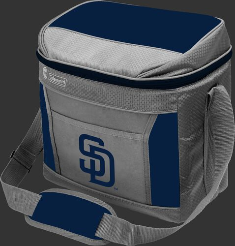 Rawlings San Diego Padres 16 Can Cooler In Team Colors With Team Logo On Front SKU #031400019111