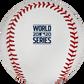 2020 World Series logo printed on a Major league baseball - SKU: EA-WSBB20-R image number null