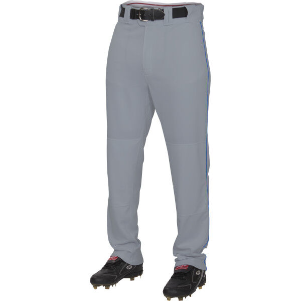 Adult Semi-Relaxed Piped Pant Blue Gray/Royal