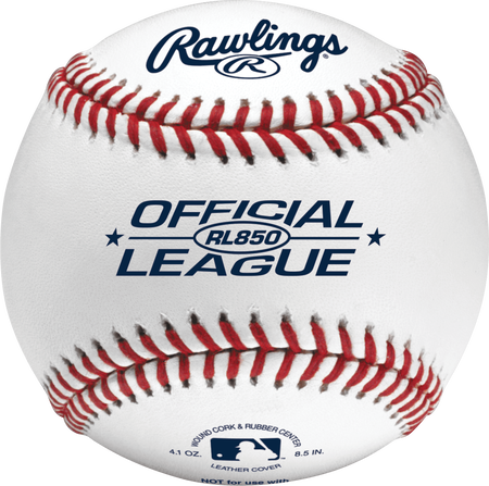 Official League 8.5 in Undersized Practice Baseballs