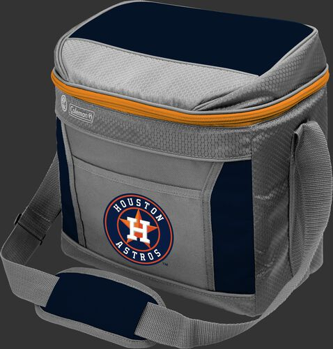 Rawlings Houston Astros 16 Can Cooler In Team Colors With Team Logo On Front SKU #03140002111
