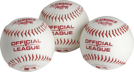 Official League Playmaker Baseballs | 3 pack