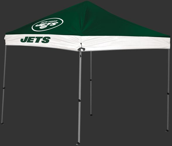 Rawlings Green and White NFL New York Jets 9x9 Canopy Shelter With Team Logo and Name SKU #03231079112