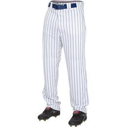 Youth Semi-Relaxed Pinstripe Baseball Pant Navy