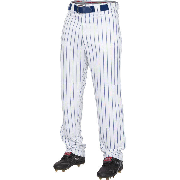 Youth Semi-Relaxed Pinstripe Pant Navy