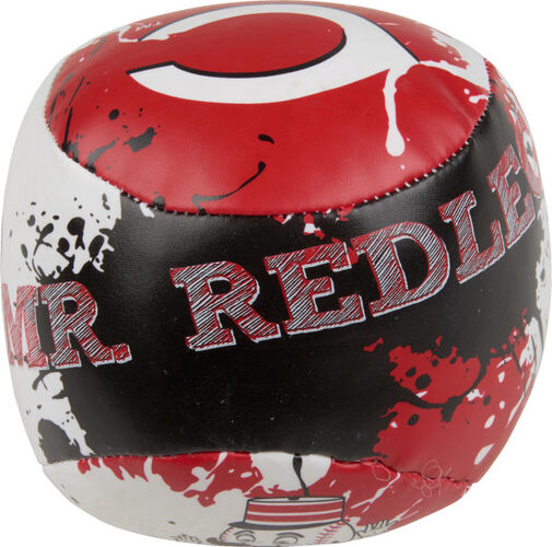 Top of Rawlings Cincinnati Reds Quick Toss 4'' Softee Baseball With Team Name of Mascot On Front In Team Colors SKU #01320023113
