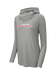 A gray Rawlings softball lightweight performance hoodie - SKU: RSGLWH-G image number null