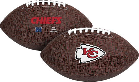 NFL Kansas City Chiefs Air-It-Out youth football with team logo