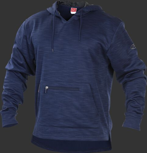 PFH2 Navy Rawlings performance fleece hoodie