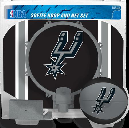 NBA San Antonio Spurs Softee Hoop Set