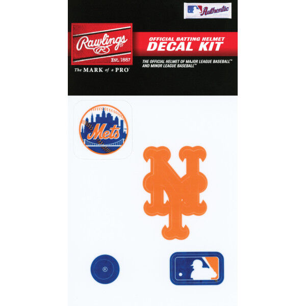 MLB New York Mets Decal Kit