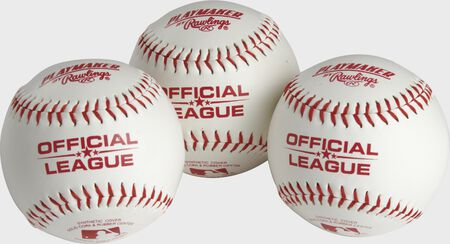 Official League Playmaker Baseballs | 3 or 6 Pack