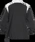 Back of Rawlings Black Adult Long Sleeve Quarter-Zip Jacket - SKU #FORCEJ-B-88 image number null