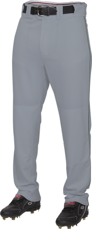 Adult Semi-Relaxed Piped Baseball Pant