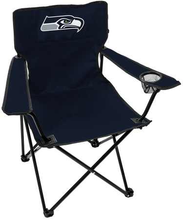 NFL Seattle Seahawks Gameday Elite Chair with team colors and logo on the back