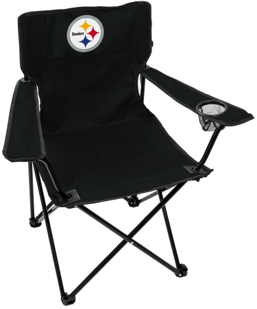 NFL Pittsburgh Steelers Gameday Elite Chair with team colors and logo on the back