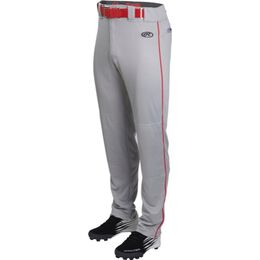 Youth Launch Semi-Relaxed Piped Baseball Pant