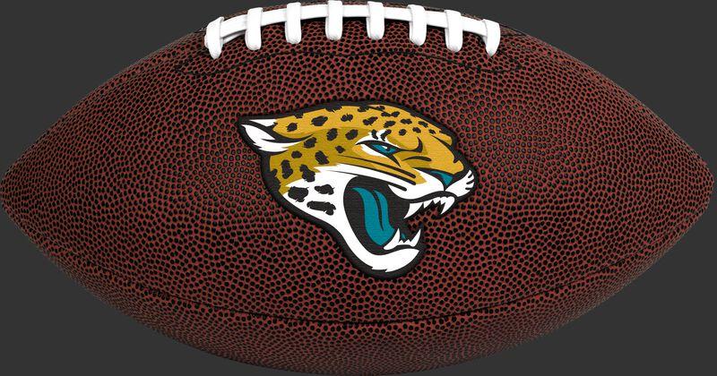 Brown NFL Jacksonville Jaguars Football With Team Logo SKU #07081091811