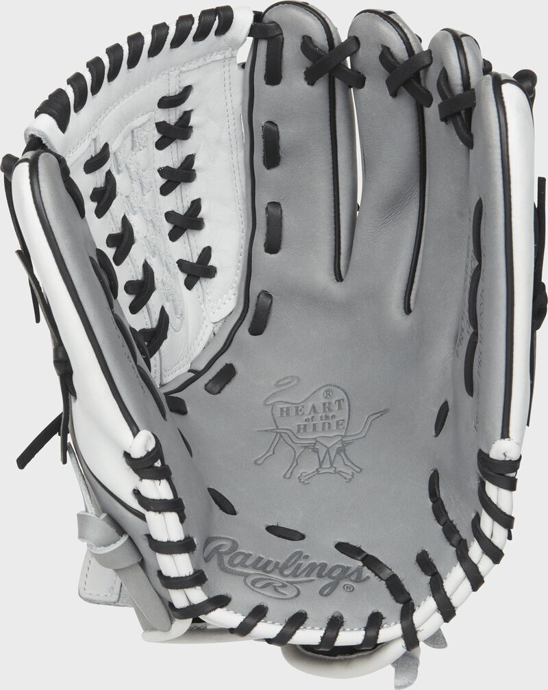 12.5-inch Rawlings Heart of the Hide Fastpitch Softball Glove