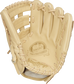 Camel palm of a DJ LeMahieu Pro Preferred glove with a camel web and laces - SKU: PROSNP4-DJ26 image number null