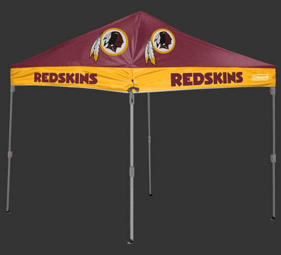 Rawlings Burgundy and Gold NFL Washington Redskins 10x10 Canopy Shelter With Team Logo and Name SKU #03221087111