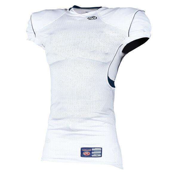 674bdfe60 rawlings vapor 4 fade sublimated football jersey  adult game football jersey  navy
