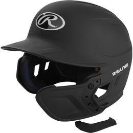 Mach EXT Batting Helmet Extension For Right-Handed Batter Black