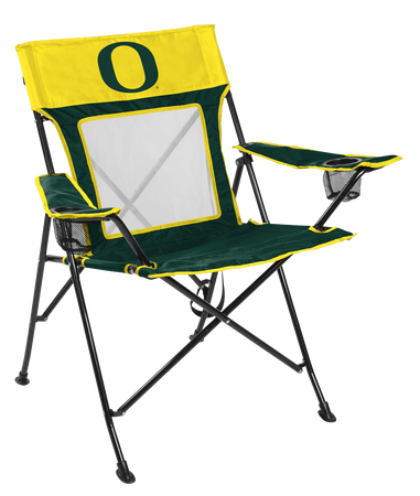 NCAA Oregon Ducks Game Changer chair with the team logo