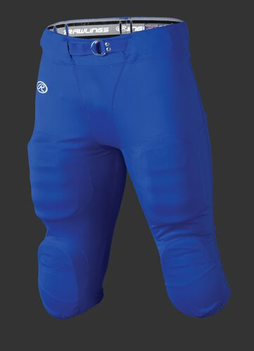 Front of Rawlings Royal Adult Slotted Football Pant - SKU #FP147