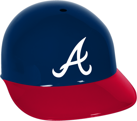 MLB Atlanta Braves Helmet
