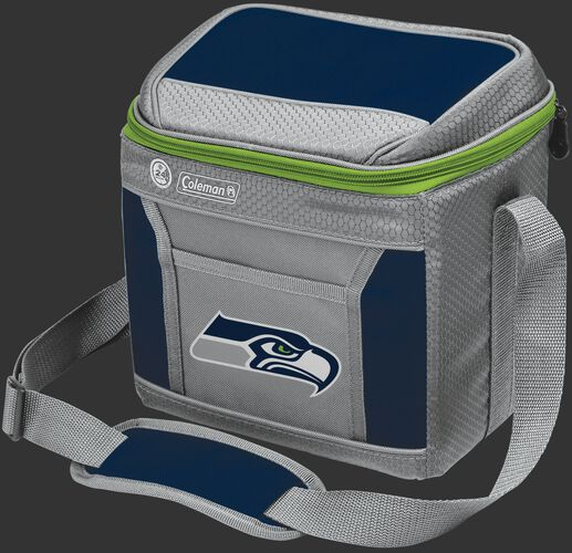 Rawlings Seattle Seahawks 9 Can Cooler In Team Colors With Team Logo On Front SKU #03281085111