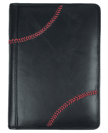 Baseball Stitch Mini Portfolio