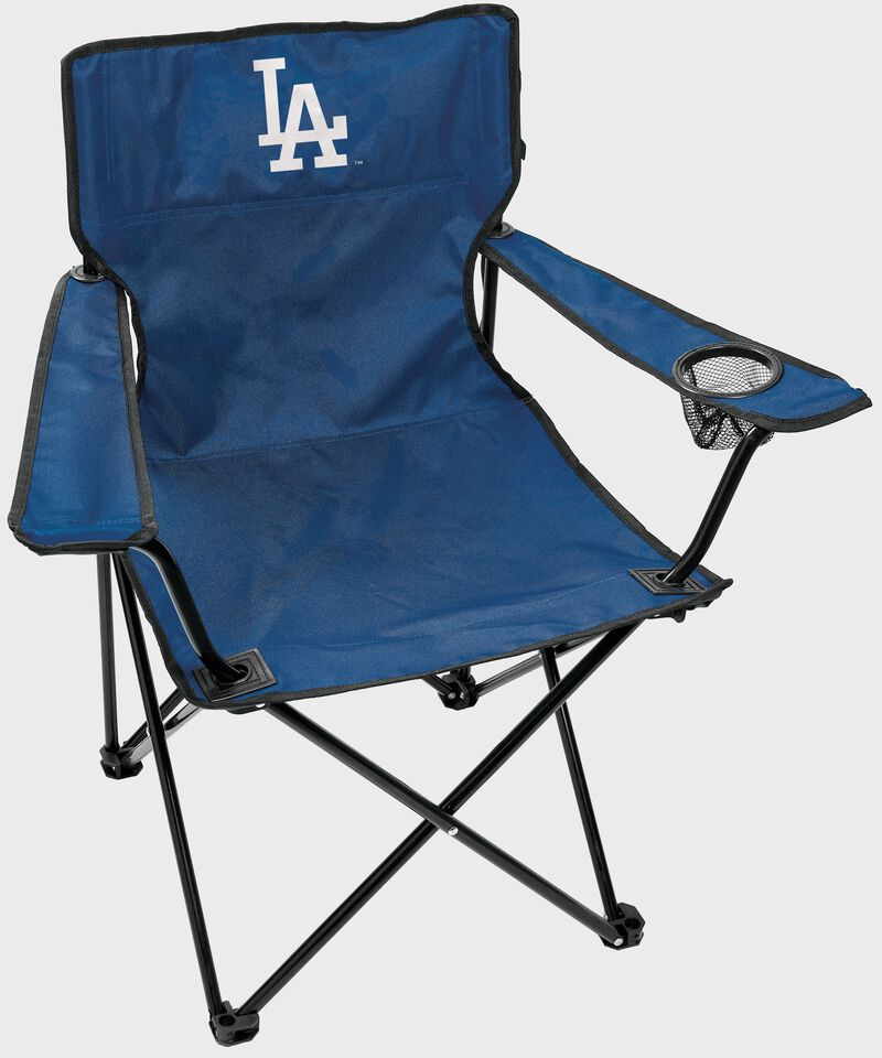 A Los Angeles Dodgers gameday elite quad chair