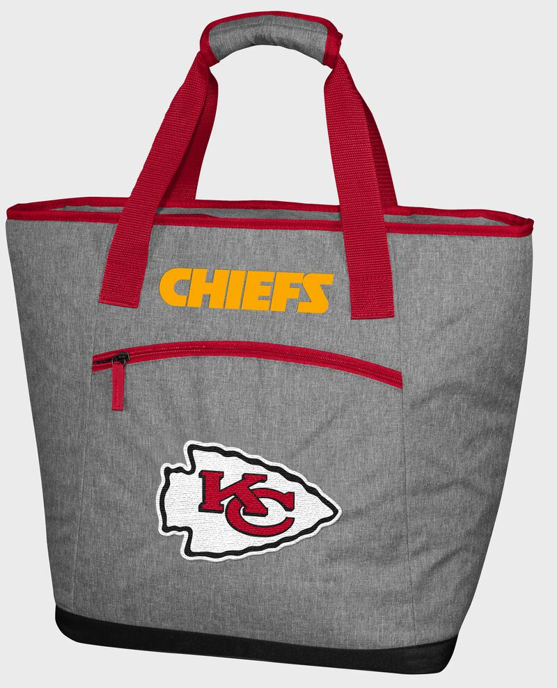 A Kansas City Chiefs 30 can tote cooler