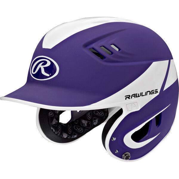 Velo Senior Batting Helmet Purple