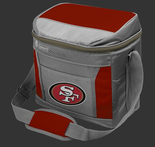 Rawlings San Francisco 49ers 16 Can Cooler In Team Colors With Team Logo On Front SKU #03291084111