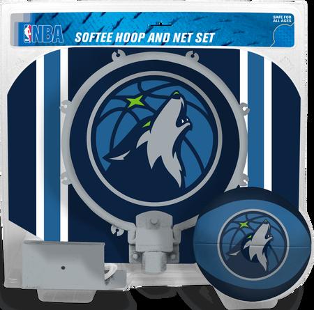 NBA Minnesota Timberwolves Softee Hoop Set