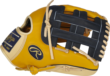 Thumb of a PROKB17-6GT Heart of the Hide 12.25-Inch infield glove with a navy H-web
